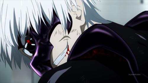 Kaneki, like Touka, has his character receive absolutely zero focus