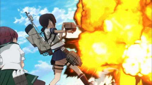 2D, 3D, and explosions; a lot going on but nothing too pretty
