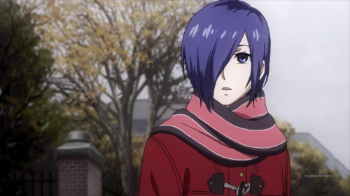 Even Touka cannot believe what this anime ends up being