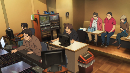 Shirobako's sound-work is nicely composed in nearly all cases