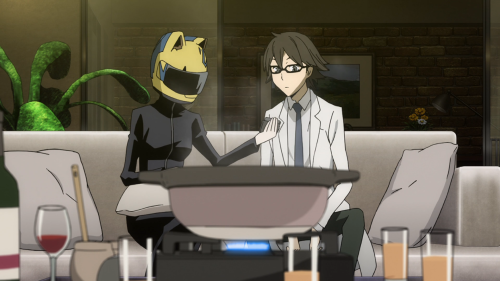 Celty and Shinra are fun, but aren't around enough to keep the show afloat