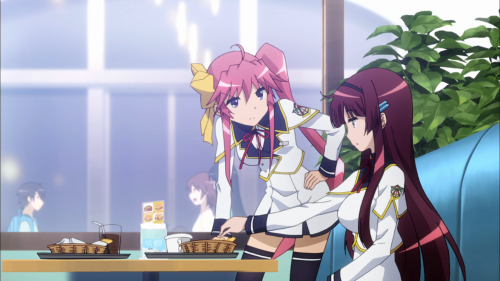 Urushibara and Satsuki (and Elena when around) provide the only fun