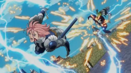 Gilthunder's revenge showcased the high level of art and animation