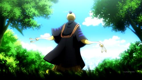Koro-sensei, a vital character, receives zero exploration
