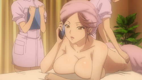The fan-service employed is never arousing and always tiresome