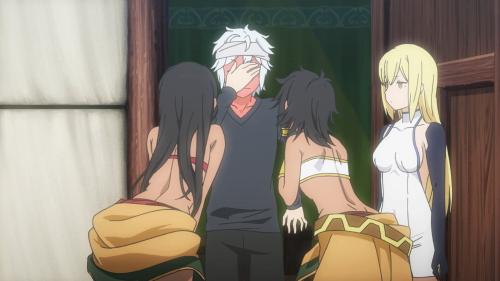 The harem aspect detracts from what the show sets out to do