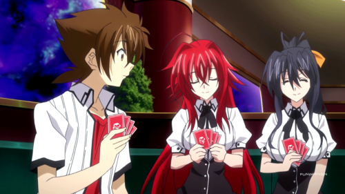 Rias and Akeno are a sight for sore eyes, but cannot save the season