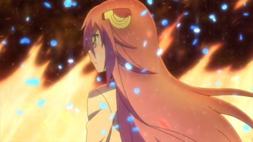 Gakusen Toshi Asterisk / Episode 1 / Julis's determination fires forth