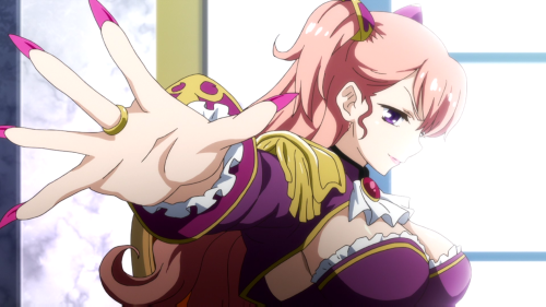 Valkyrie Drive: Mermaid / Episode 1 / Charlotte looking gorgeous