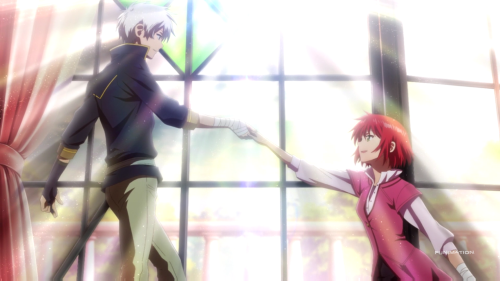 Akagami no Shirayuki-hime / Episode 1 / Shirayuki decides to follow Zen