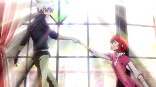 Akagami no Shirayuki-hime / Episode 1 / Shirayuki decides to follow Zen