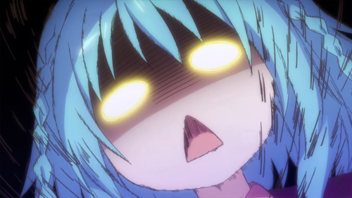 "Gakusen Toshi Asterisk / Episode 5 / Saya calling Ernesta a ""thieving cat"""