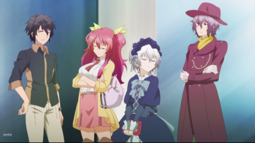 Rakudai Kishi no Cavalry / Episode 3 / Ikki, Stella, Shizuku, and Alice take a trip to the mall