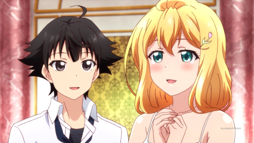 "Shomin Sample / Episode 12 / Kimito and Reiko declaring their ""engagement"""