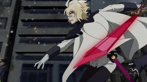 Owari no Seraph: Nagoya Kessen-hen / Episode 9 / Mika goes above and beyond to get to Yu