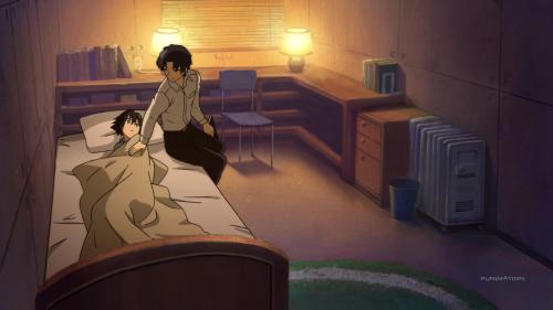 Owari no Seraph: Nagoya Kessen-hen / Episode 8 / Guren consoles a young Yu
