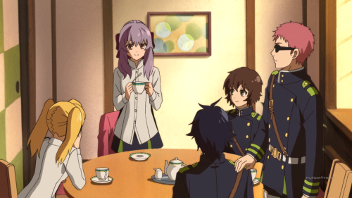 Owari no Seraph: Nagoya Kessen-hen / Episode 3 / Yu and the gang decide to defend family