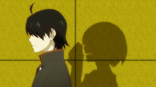 Owarimonogatari / Episode 4 / Ougi doing well in persuading Araragi to let her join him on his trip to Sodachi's address