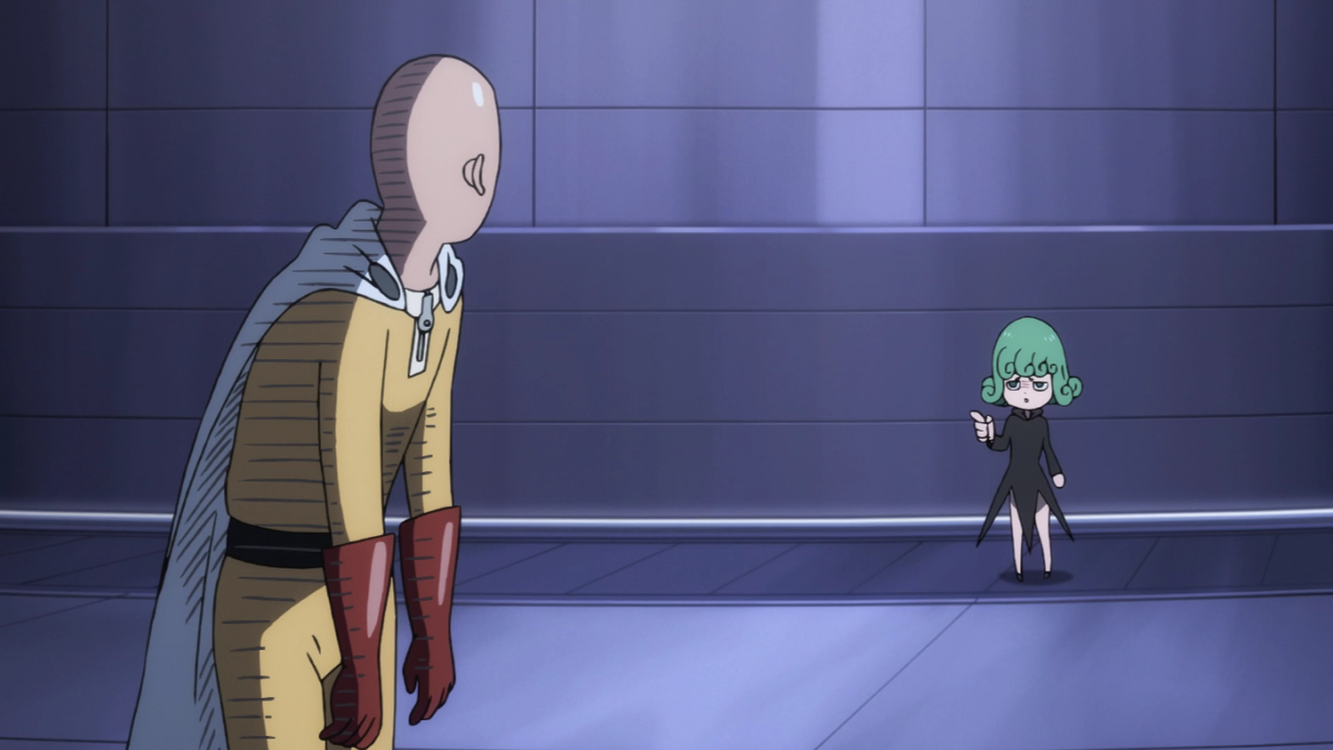 Review/discussion about: One Punch Man | The Chuuni Corner