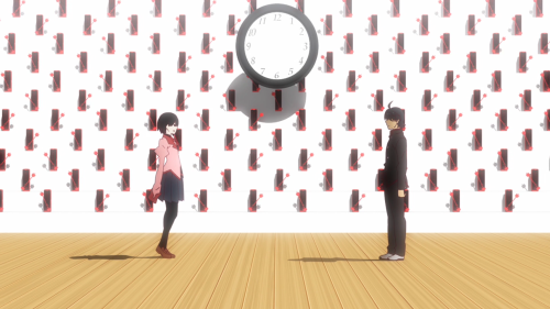 Owarimonogatari / Episode 3 / Ougi and Araragi unravel Araragi's past while in Sodachi's old house