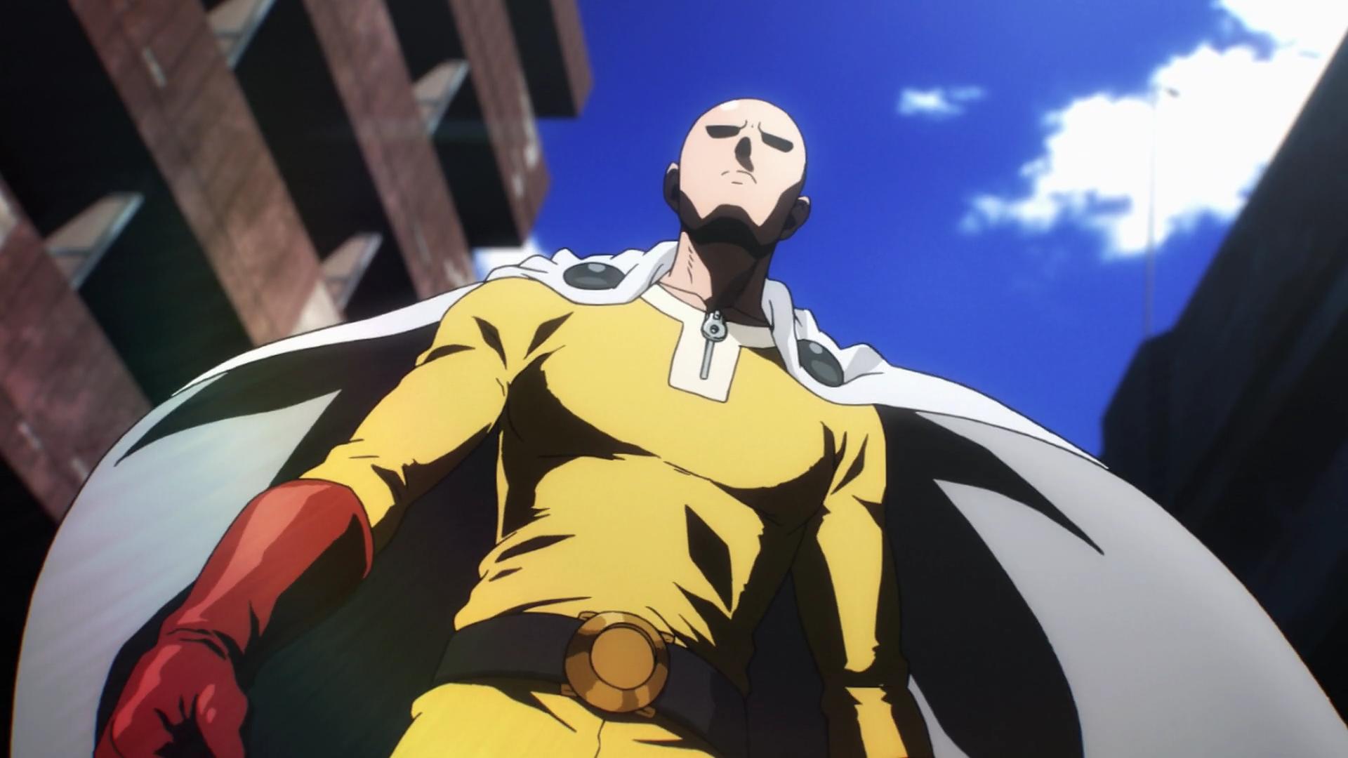 Official One Punch Man Saitama /& Genos Fighting Heroes Black Wallet *SECOND*