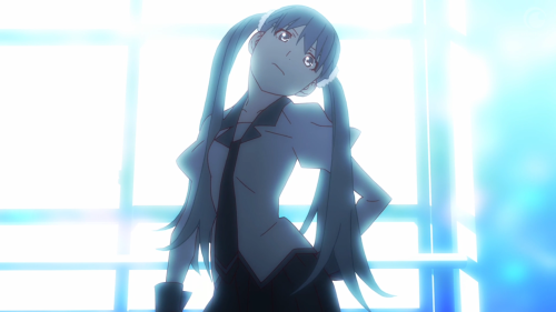 Owarimonogatari / Episode 2 / Sodachi, during her tirade, gives one of SHAFT's signature head tilts