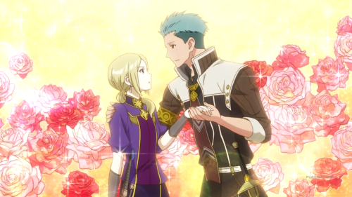 Akagami no Shirayuki-hime 2nd Season / Episode 11 / Mitsuhide deliriously sweet talking Kiki