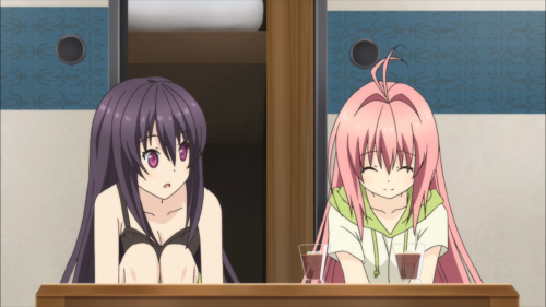 Ao no Kanata no Rhythm / Episode 9 / Misaki and Asuka supporting one another out of their respective slumps