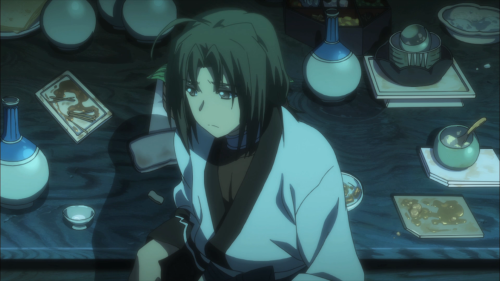 Utawarerumono: Itsuwari no Kamen / Episode 12 / Haku wondering who he really is