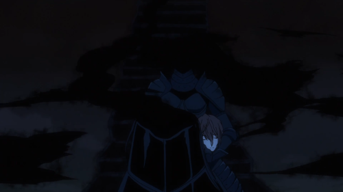 Durarara!!x2 Ketsu / Episode 12 / Celty, with her head, saying her goodbyes