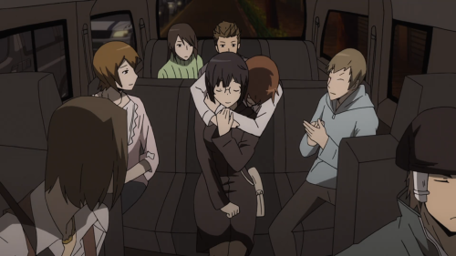 Durarara!!x2 Ketsu / Episode 10 / Anri understanding what love means