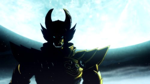 Garo: Guren no Tsuki / Episode 1 / The first shot of the Golden Knight