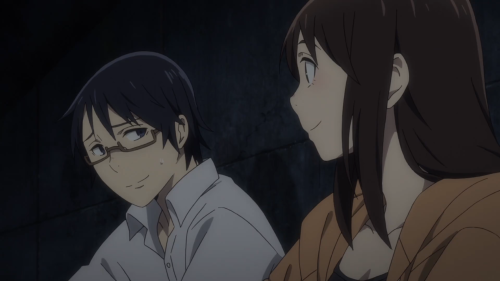 Erased / Episode 5 / Airi telling Satoru she believes in him while also asking if he's stupid