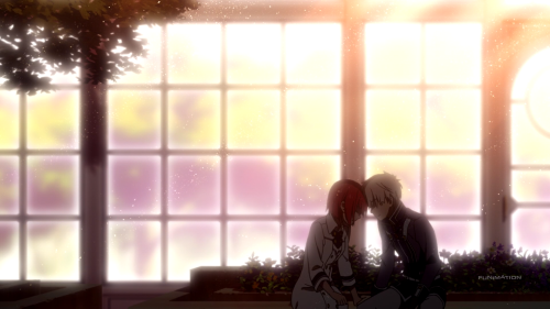 Akagami no Shirayuki-hime 2nd Season / Episode 9 / Shirayuki and Zen sharing a private moment of and about happiness together