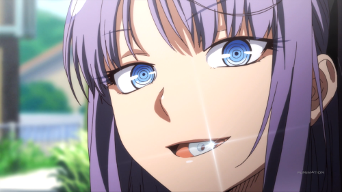 Dagashi Kashi / Episode 2 / Hotaru whistling with some fue ramune dagashi