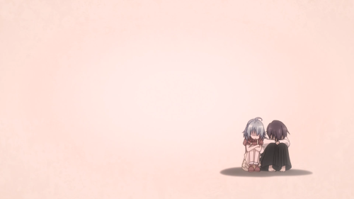 Gakusen Toshi Asterisk 2nd Season / Episode 10 / Kid Saya comforting kid Ayato