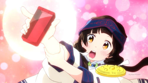 Kuma Miko / Episode 10 / Machi finally getting a cell phone for the first time