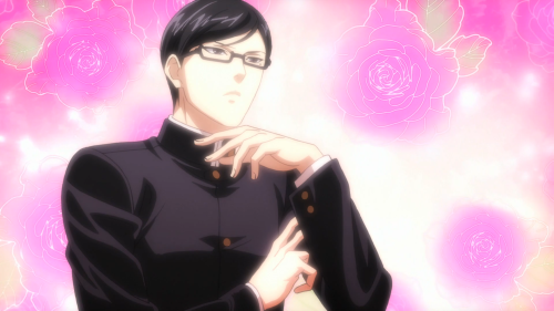 Sakamoto desu ga? / Episode 2 / Sakamoto not being able to say his actual name on air