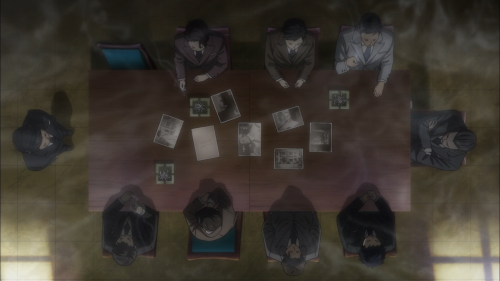 Joker Game / Episode 12 / D-Agency holding a meeting