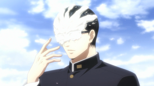 Sakamoto desu ga? / Episode 12 / Sakamoto the last time (during the season) saying the name of the anime