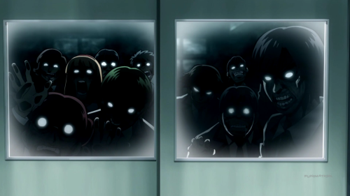 Assassination Classroom Second Season / Episode 11 / The other kids of the school wanting to kill the E-Class