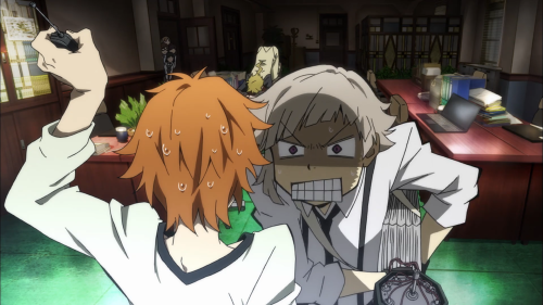 Bungou Stray Dogs / Episode 2 / Atsushi getting quite angry