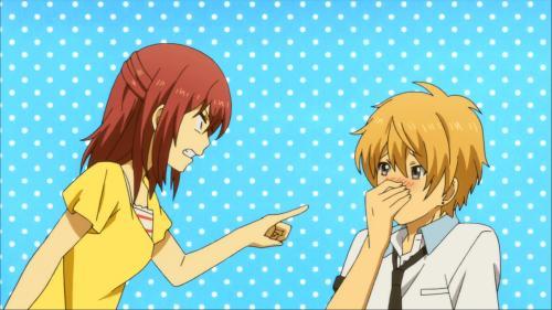 ReLIFE / Episode 12 / Kariu scolding Oga