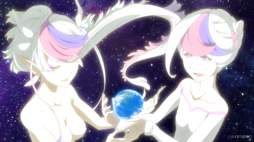 Concrete Revolutio: Choujin Gensou -- The Last Song / Episode 4 / Devila and Devilo in space