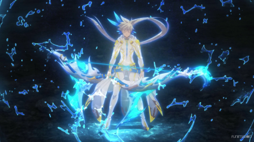 Tales of Zestiria the X / Episode 9 / Sorey powering up through Mikleo
