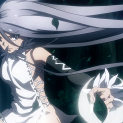 Taboo Tattoo / Episode 7 / OP visual of eye-stitch girl