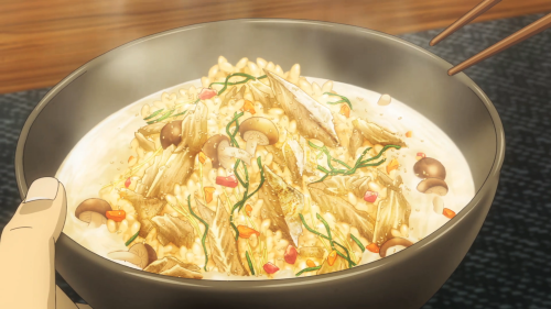 Shokugeki no Souma: Ni no Sara / Episode 10 / Souma's exquisite-looking dish