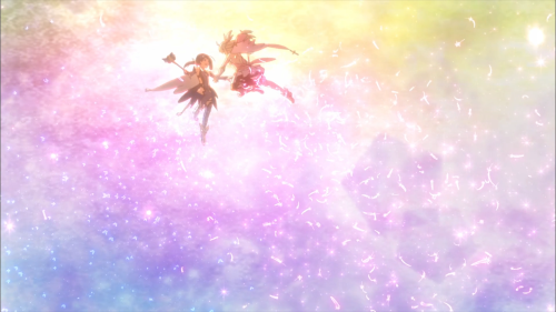 Fate/kaleid liner Prisma☆Illya 3rei!! / Episode 10 / Illya and Miyu reuniting