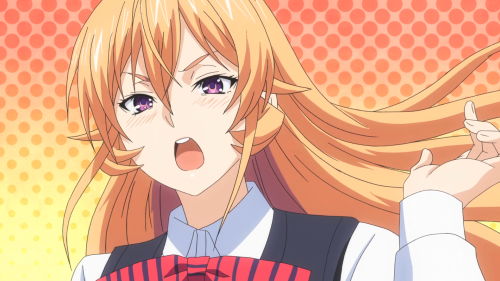Shokugeki no Souma: Ni no Sara / Episode 5 / Erina swishing her hair back