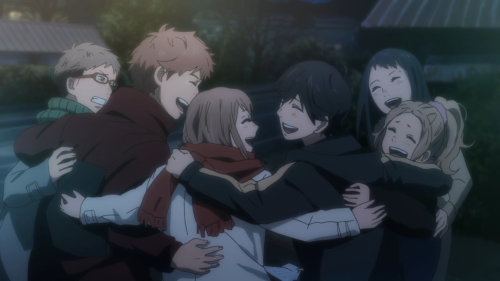 Orange / Episode 12 / The whole gang happy and together